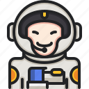 astronaut, space, suit, professions, galaxy, jobs
