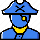 ocean, pirate, sea, water icon