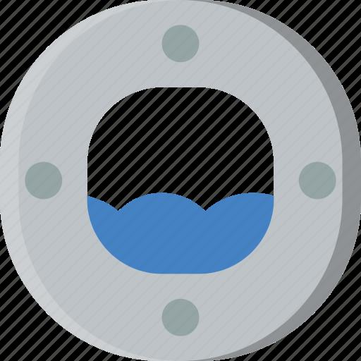 boat, ocean, sea, water, window icon