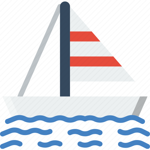 Boat, ocean, sail, sea, water icon - Download on Iconfinder