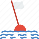 buoy, ocean, sea, water icon