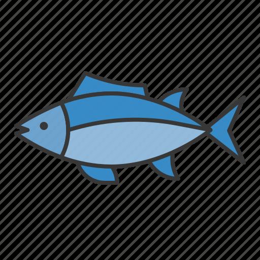 fish, ocean, sea, tuna icon