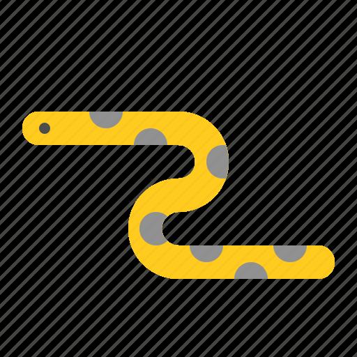 aquatic animal, ocean, sea, sea snake, snake icon