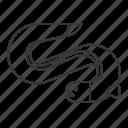 aquatic animal, eel, fish, life, sea icon