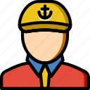 crewman, ocean, sea, water icon