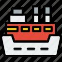 water, ship, cruise, sea, ocean icon