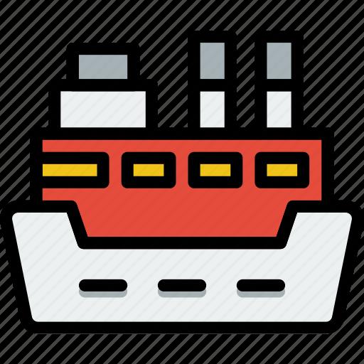 cruise, ocean, sea, ship, water icon
