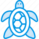 ocean, sea, tortoise, water icon