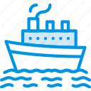 water, cruise, boat, sea, ocean