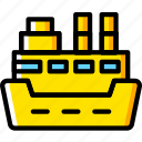 cruise, ocean, sea, ship, water icon