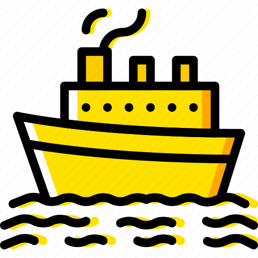 boat, cruise, ocean, sea, water icon