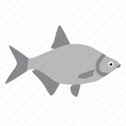 animal, cod, fish, fishing, seafood, swimming icon