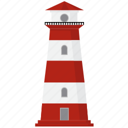 directory, light, tower icon