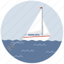 anchor, boat, marine, ocean, sailing, sea, ship icon