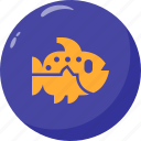 fish, ocean, sea, water icon
