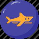 ocean, predator, sea, shark icon