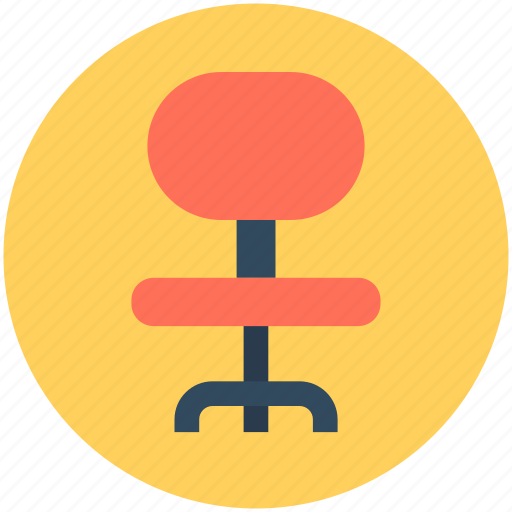 Chair, furniture, mesh chair, office chair, swivel chair icon - Download on Iconfinder