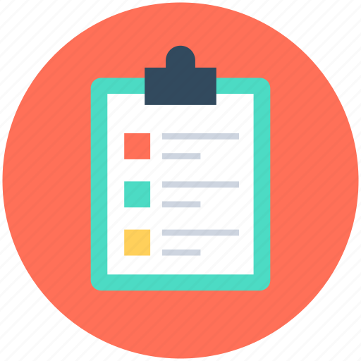 Appointment, checklist, clipboard, list, shopping list icon - Download on Iconfinder