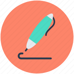 ball pen, ballpoint, ink pen, stationery, writing tool icon