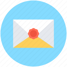 email, envelope, letter, mail, sealed envelope icon