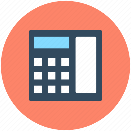 Contact us, digital phone, landline, phone, telephone icon - Download on Iconfinder