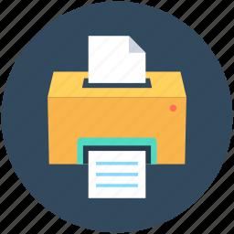 facsimile, facsimile machine, fax, fax machine, printer icon