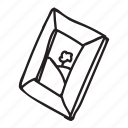 doodle, drawing, hand drawn, image, photo, picture icon