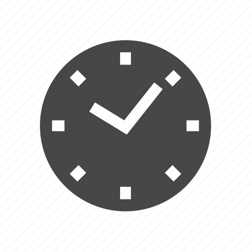 clock, office clock, time management icon
