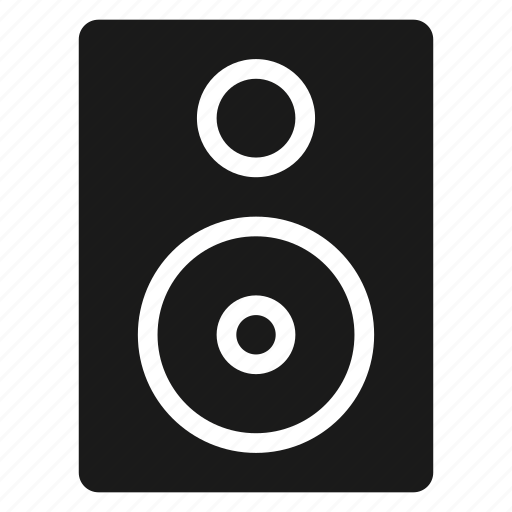 audio, bass, music, sound, speaker, volume icon
