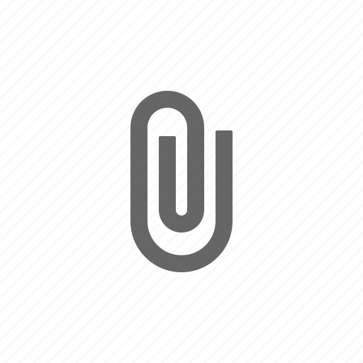 attachment, organise, paperclip icon