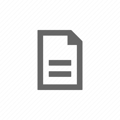 document, file, paper, writing icon