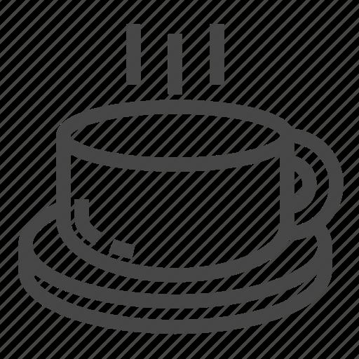 drink, hot, mug, office, tea icon