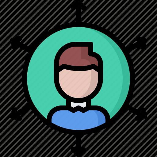 business, communication, corporation, job, office, skills, soft icon