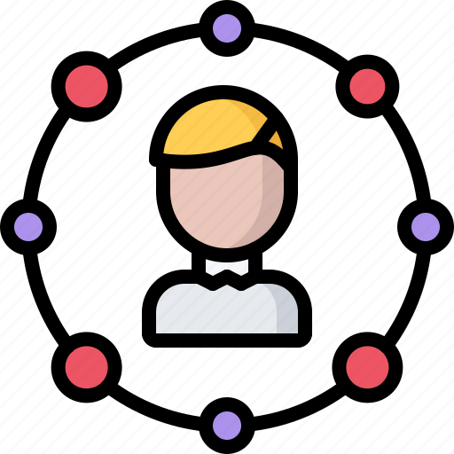 business, corporation, job, office, structure, structuring icon