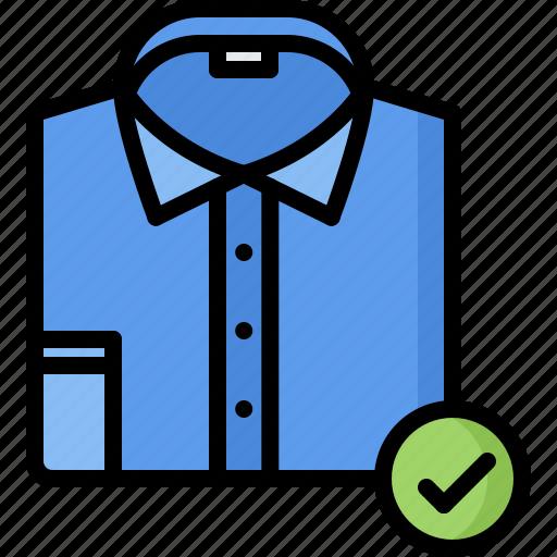 business, code, corporation, dress, job, office, shirt icon