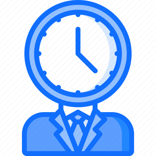 business, clock, corporation, deadline, management, office, time icon