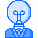 business, corporation, creative, idea, job, office, work icon