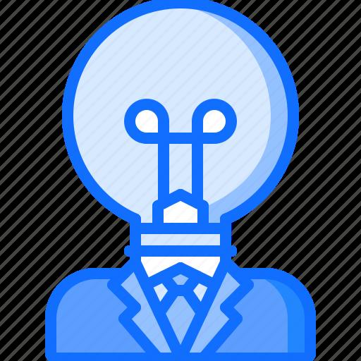 business, corporation, creative, idea, job, office, work icon