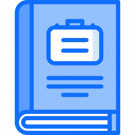 book, business, corporate, corporation, job, office, rules icon
