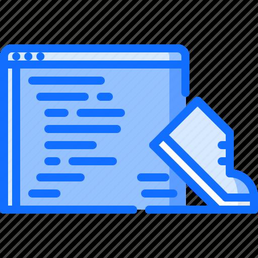 business, code, corporation, job, office, programming, sprint icon