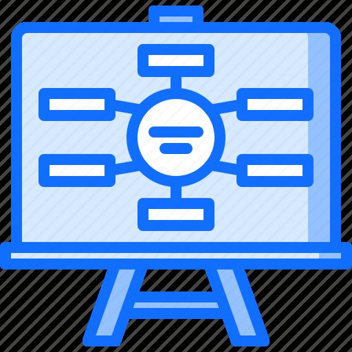 board, business, corporation, job, office, scheme, structure icon