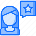 business, corporation, feedback, job, office, rating, review icon