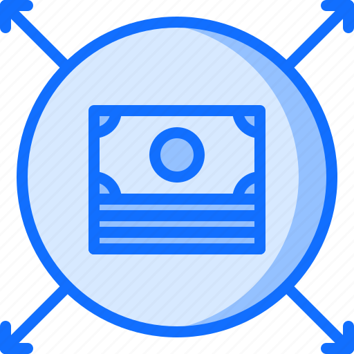 allocation, budget, business, corporation, job, money, office icon