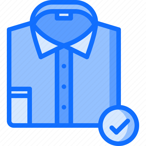 business, code, corporation, dress, job, office, shirt icon