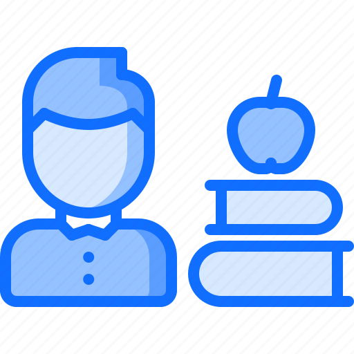 book, business, corporation, job, lesson, office, training icon