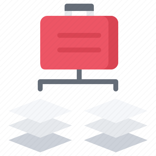 business, case, corporation, job, office, project, task icon