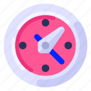 business, clock, commercial, job, office, work icon