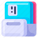 box, business, commercial, document, job, office, work icon