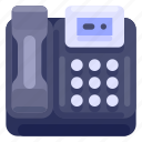 business, commercial, job, office, telephone, work icon