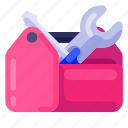 business, commercial, job, office, toolbox, work icon